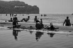 Riflessioni sulla spiaggia