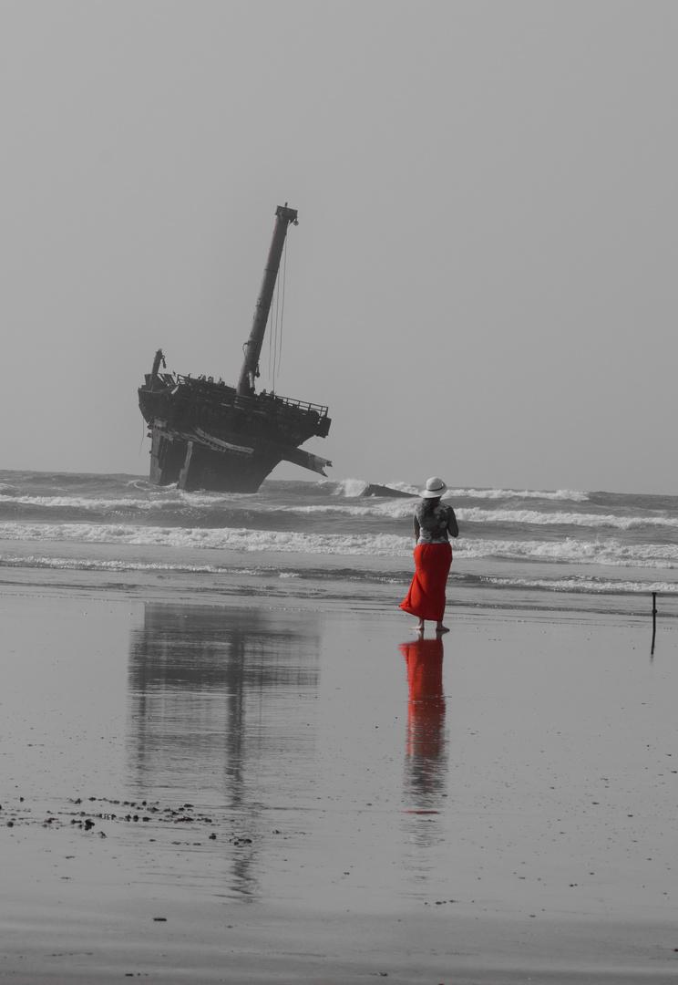 Riflesso sulla spiaggia