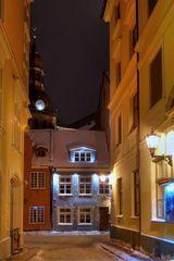 Riga - Eine Gasse in der Altstadt