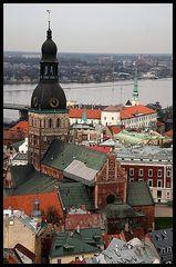 Riga I - Ein Blick über die Altstadt