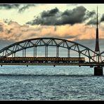 Riga (Lettland) – Dünaüberquerung