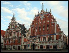 Riga VI - Schwarzhäupterhaus
