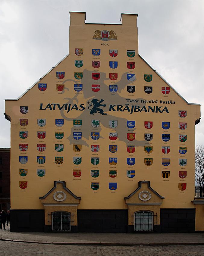 Riga XIII - Häuserfassade