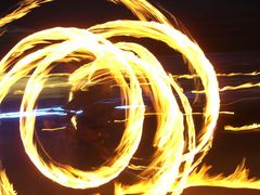 right to spend the night on fire   Poi