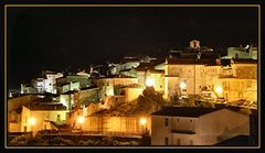 Rignano bei Nacht