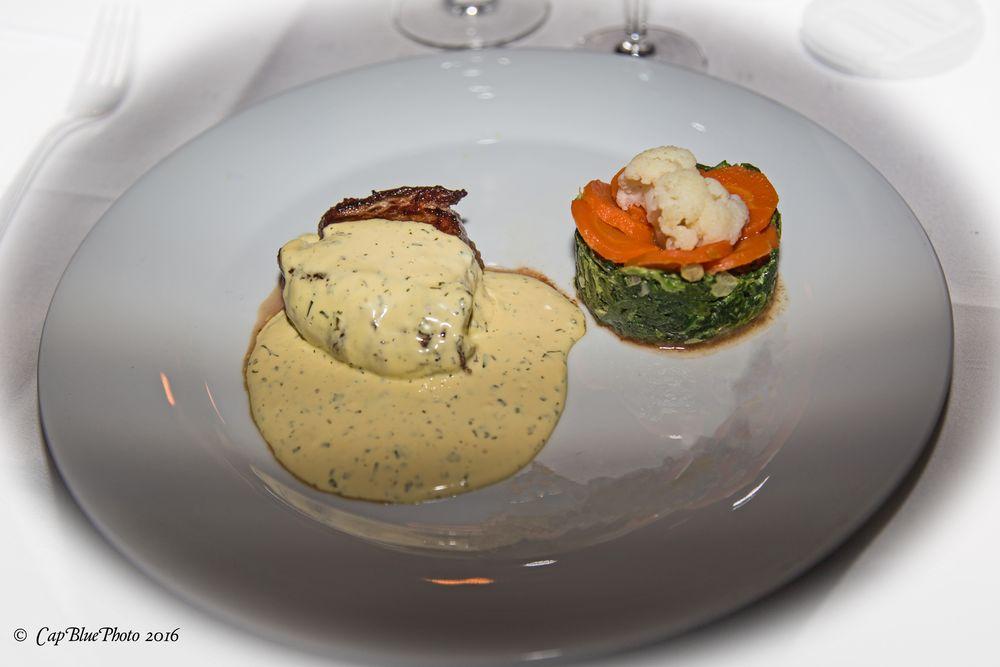 Rindertournedo mit Gemüsetörtchen
