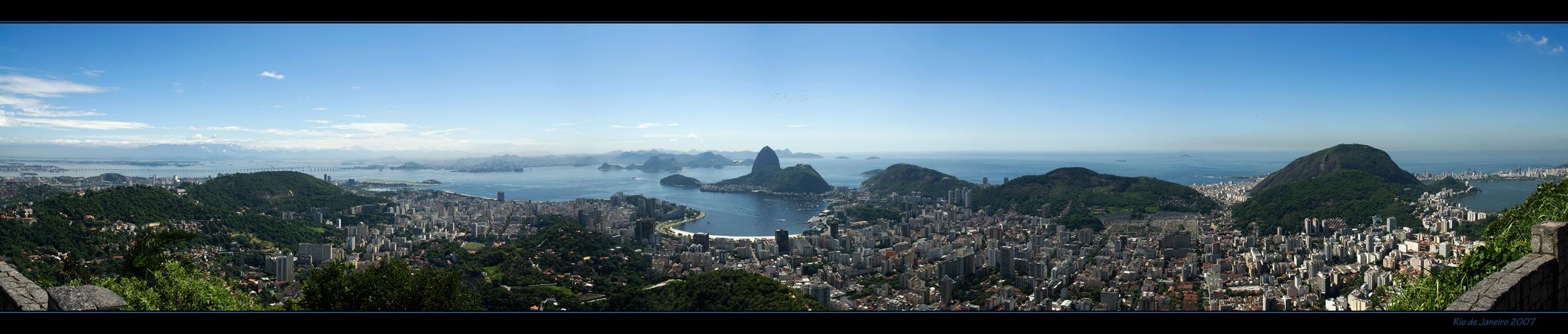 Rio de Janeiro - Blick vom Corcovado -