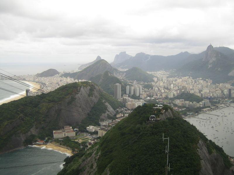 Rio de Janeiro im Nebel