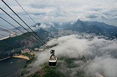 Rio de Janeiro vom Zuckerhut