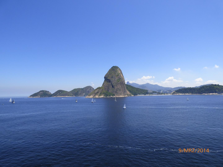 Rio de Janeiro Zuckerhut und Corvado