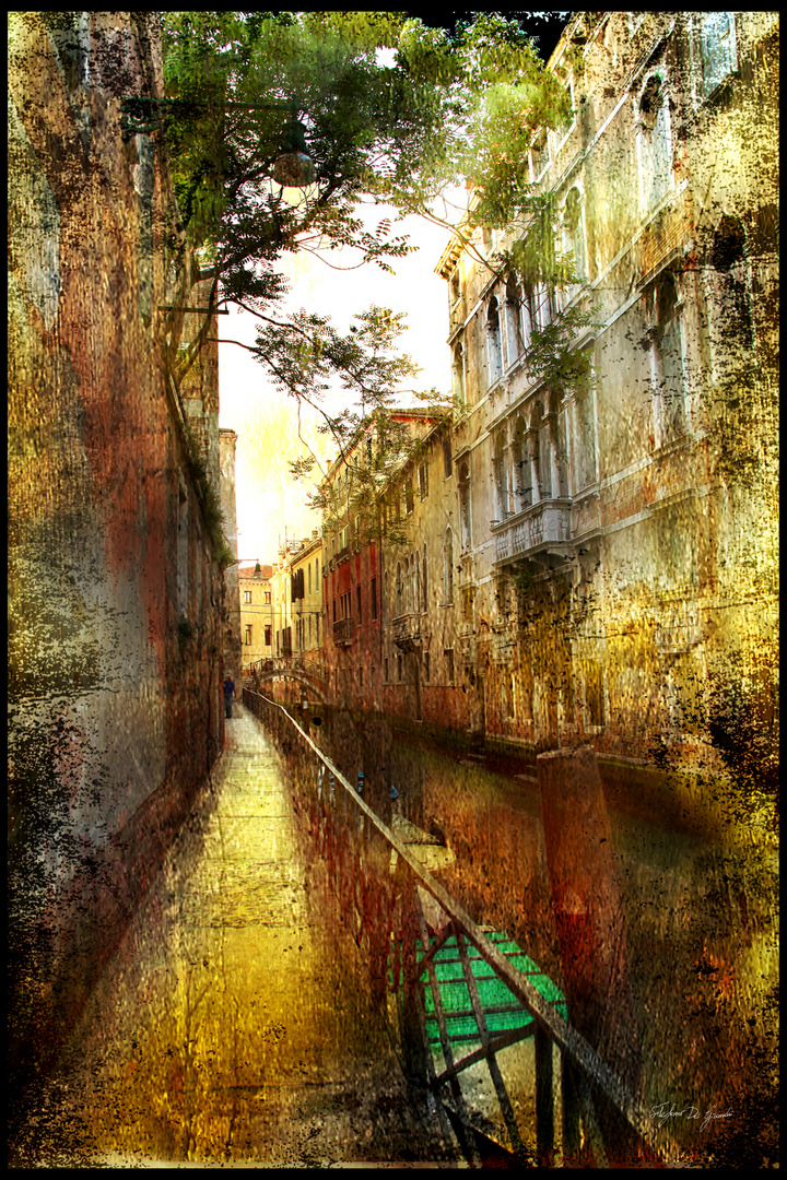 """Rio della Barbaria Venezia"""" serie profumo antico"""