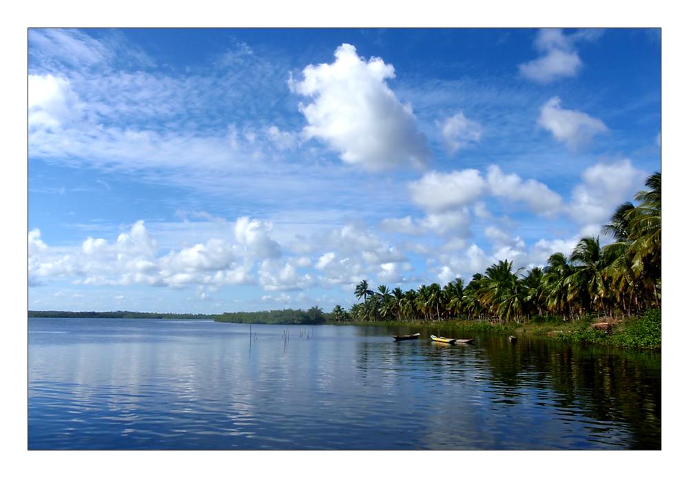 Rio do Inferno, Palmölküste, Bahia