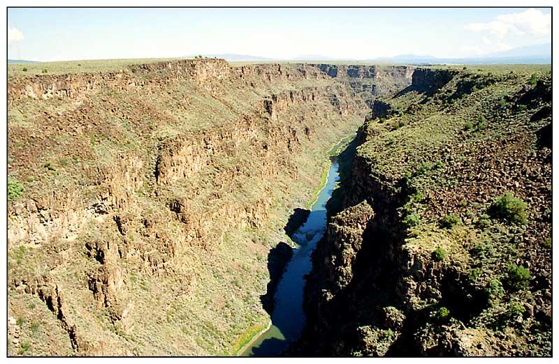 Rio Grande Gorge - zwischen Pilar und Taos, New Mexico
