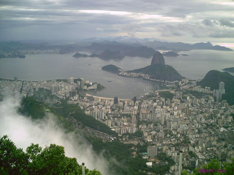 Rio in den Wolken