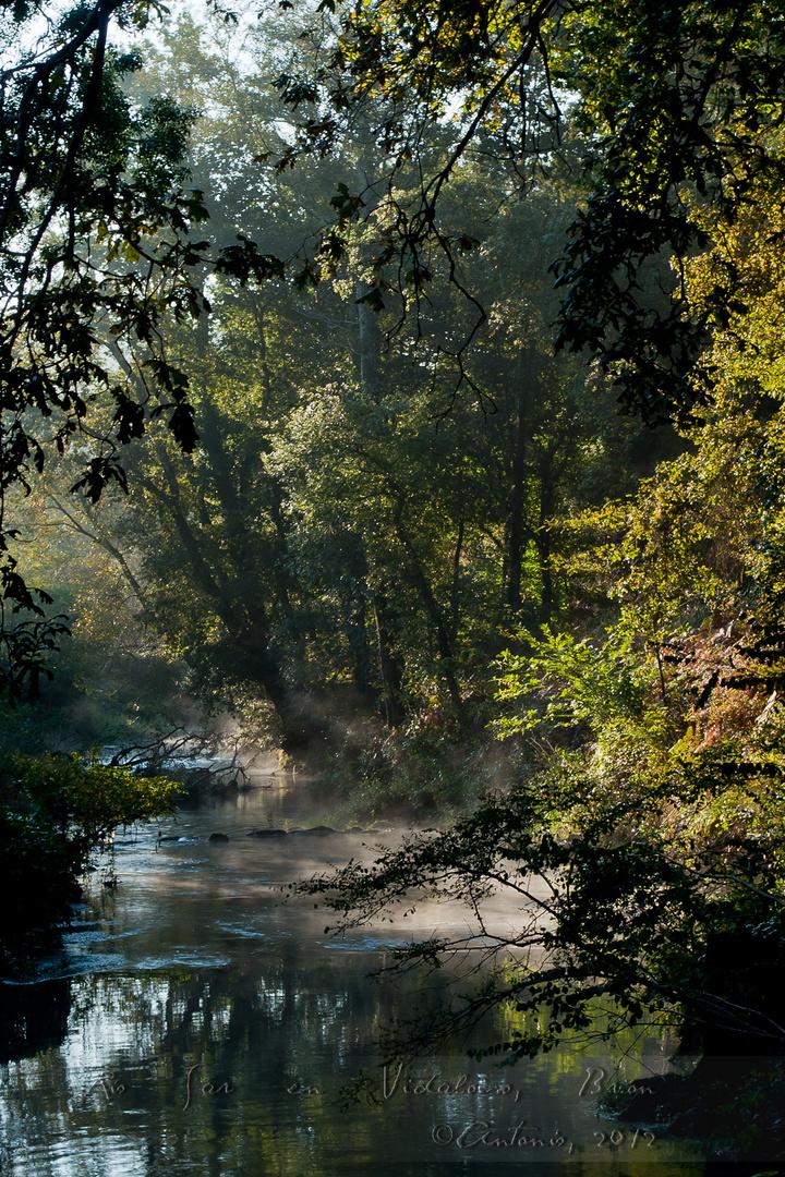 Río Sar en Vidaloiso