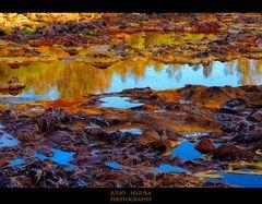 Río Tinto , al Amanecer