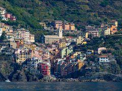 Riomaggiore, eines der schönen Cinque Terre Dörfer