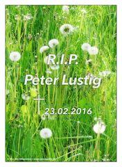 R.I.P. Peter Lustig ;-(