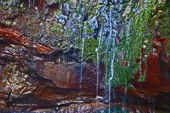 Risco Wasserfall (25 kleine Wasserfälle)