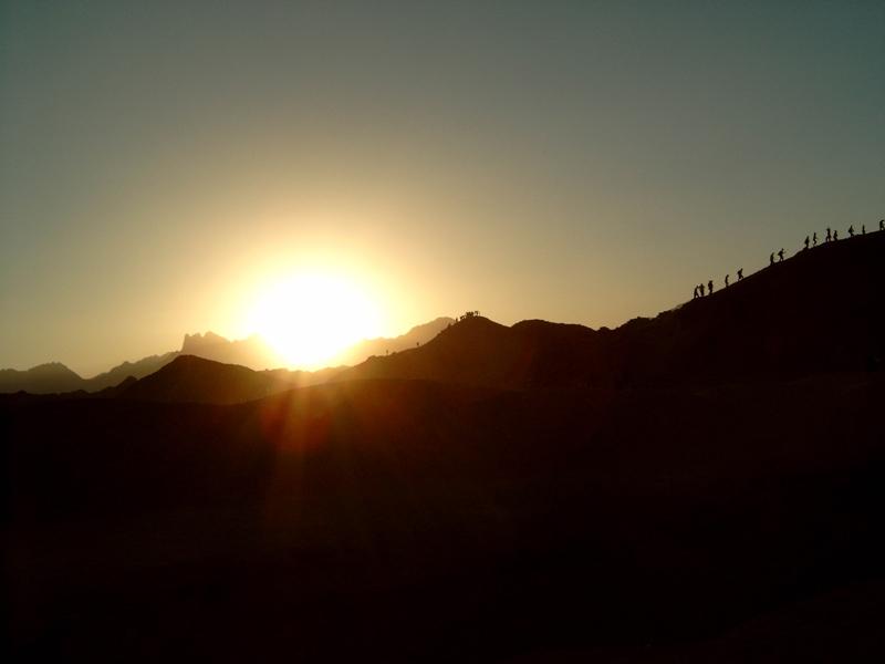 Rising for Sunset