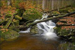 Rißloch Wasserfälle im Herbst 3