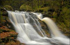 Rißloch Wasserfälle im Herbst
