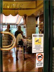 Ristorante a Verona...quanta democrazia :-))