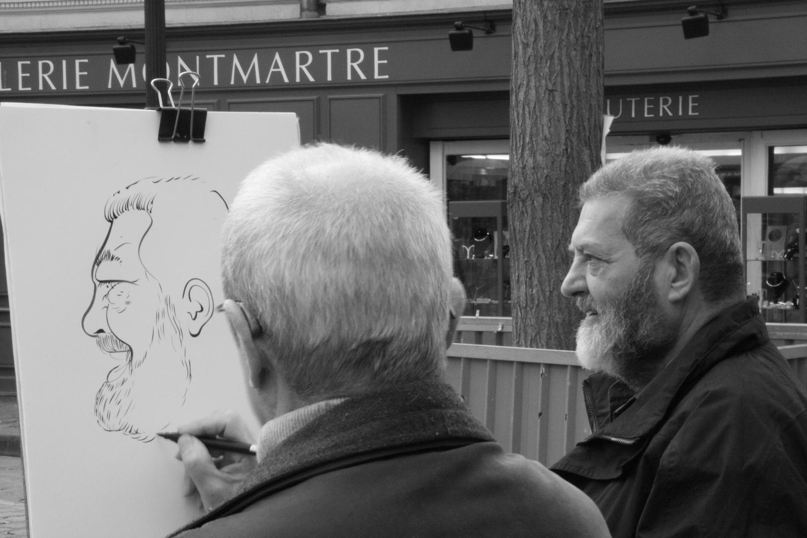 Ritratto a Montmartre