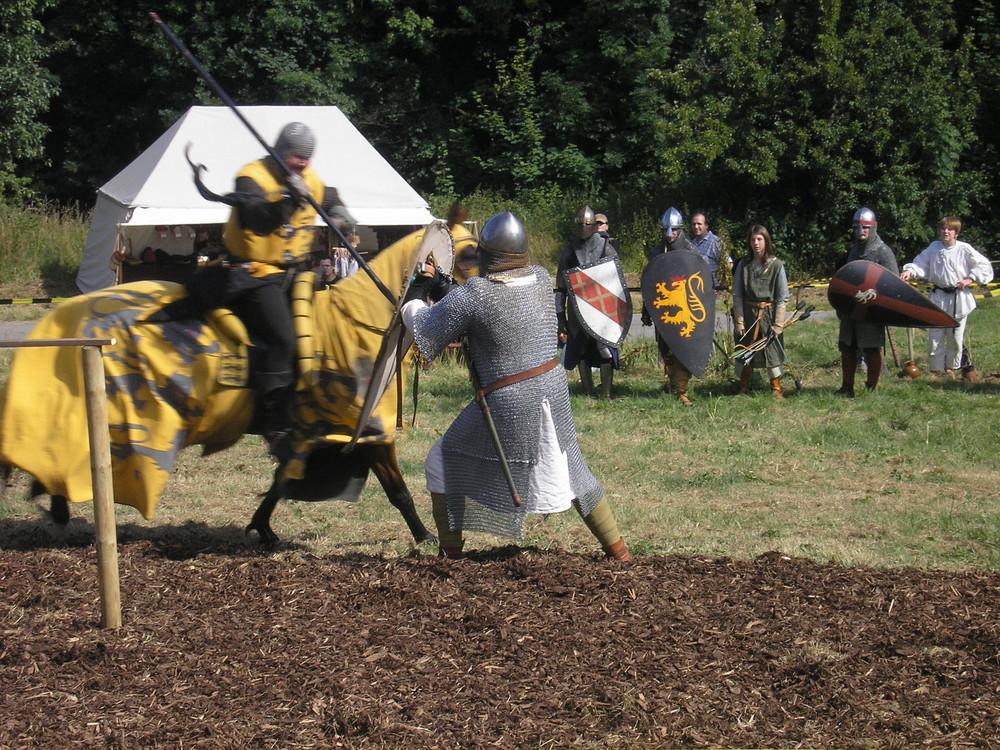 Ritter gegen Soldat