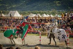 Ritter Turnier in Südtirol