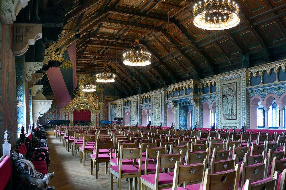 Rittersaal auf der Wartburg