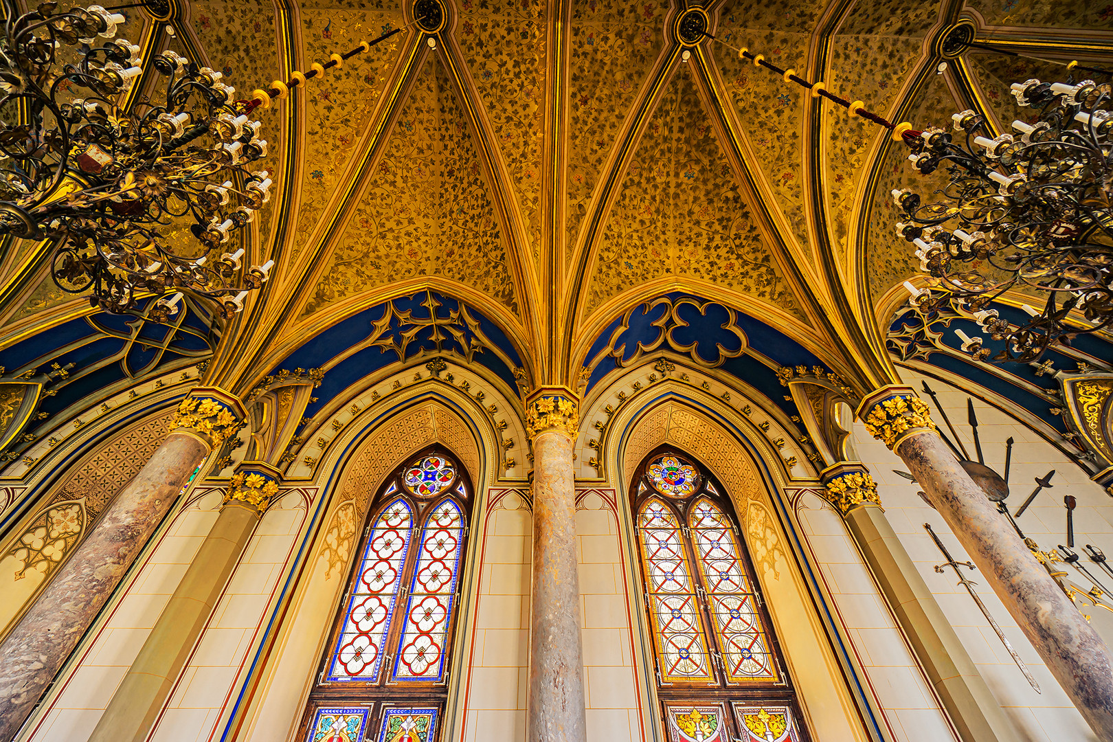 Rittersaal der Burg Hohenzollern 02