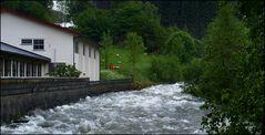 River in Hellesylt Fjord.