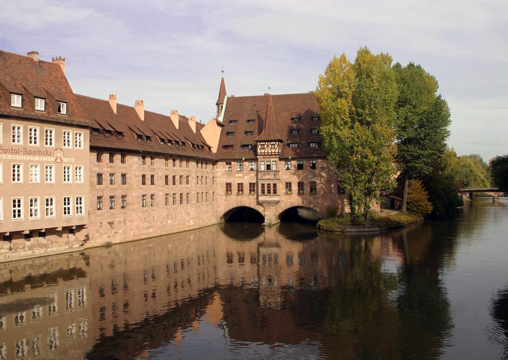River Pegnitz in Nürnberg