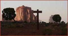 ROAD CLOSED ... im Monument Valley