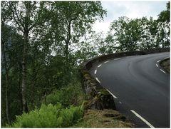 Road in inner  Norvege