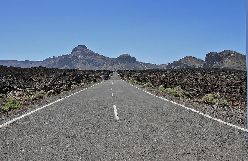 Road on Teneriffa