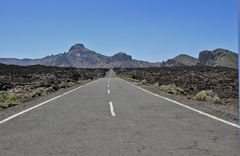 Road on Teneriffa