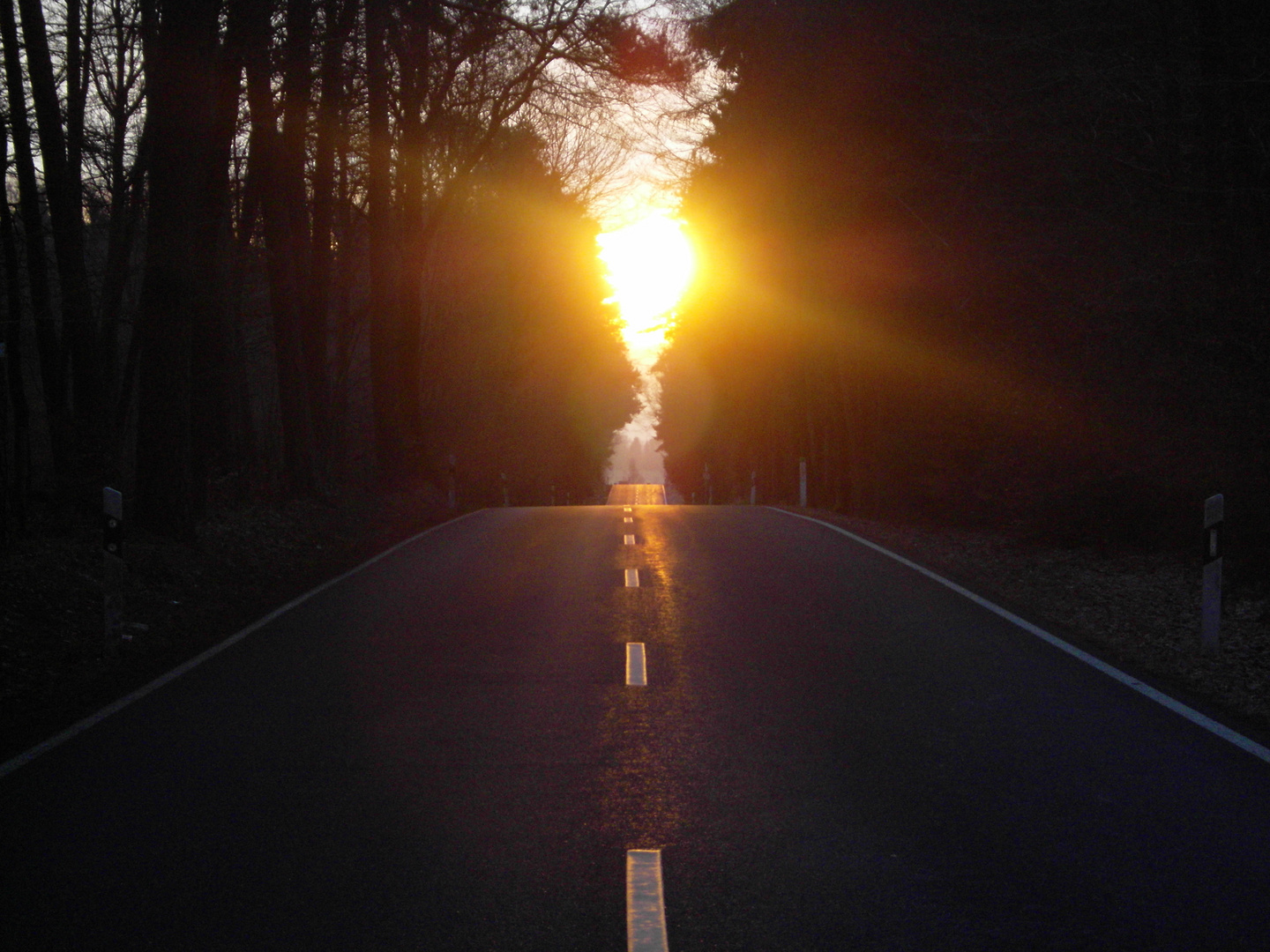road to nowhere; up and down