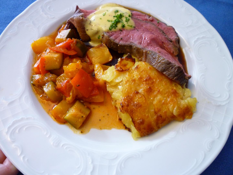 Roastbeef mit Hollandaise