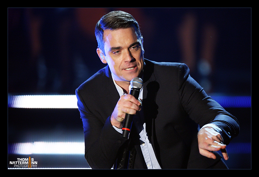 Robbie Williams live in Germany