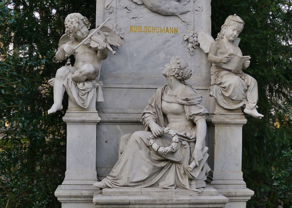 Robert + Clara Schumann