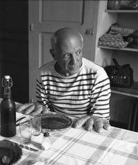 Robert Doisneau, Les pains de Picasso-1952-