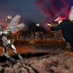 Robo Tinker Bell vs Fliegenpeter