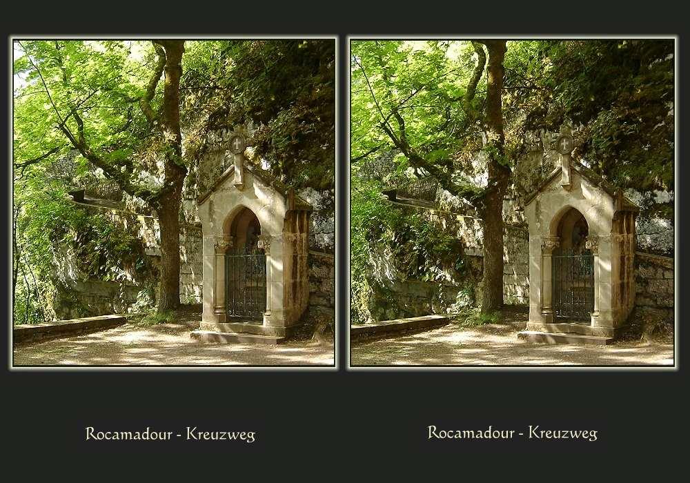 Rocamadour - Der Kreuzweg