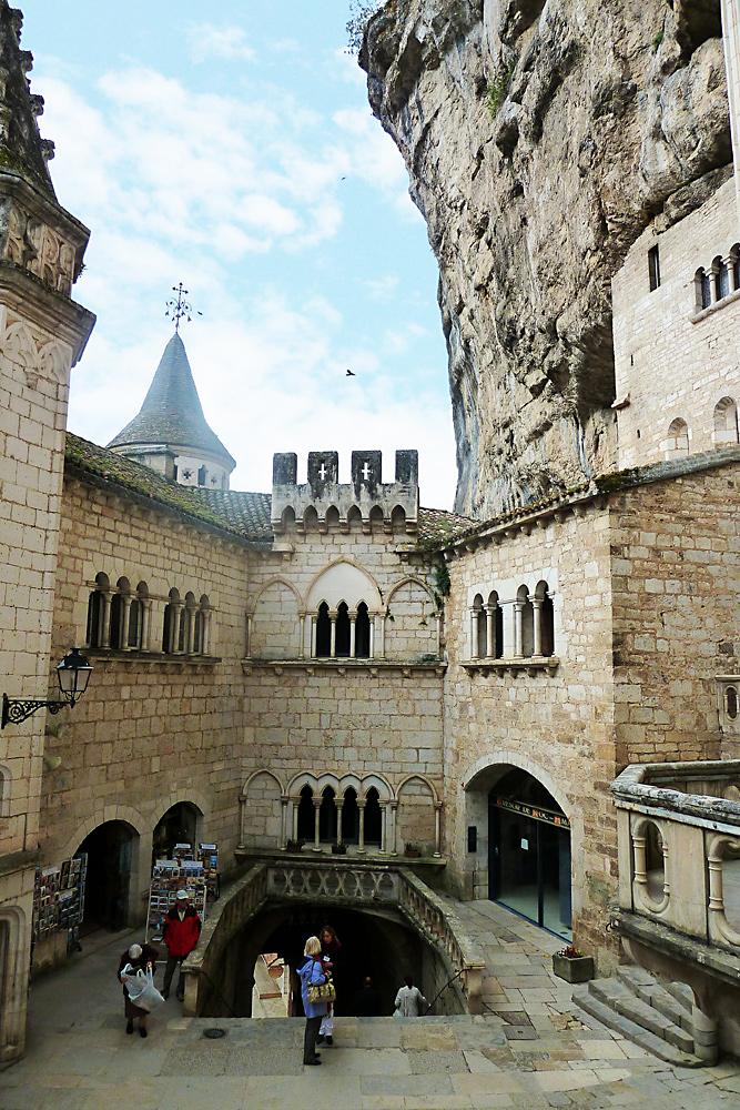 """Rocamadour - im Innern der """"Festung"""""""