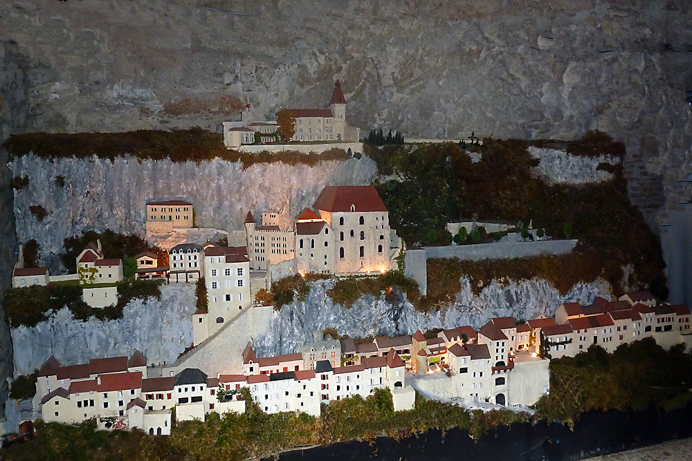 Rocamadour - Modell