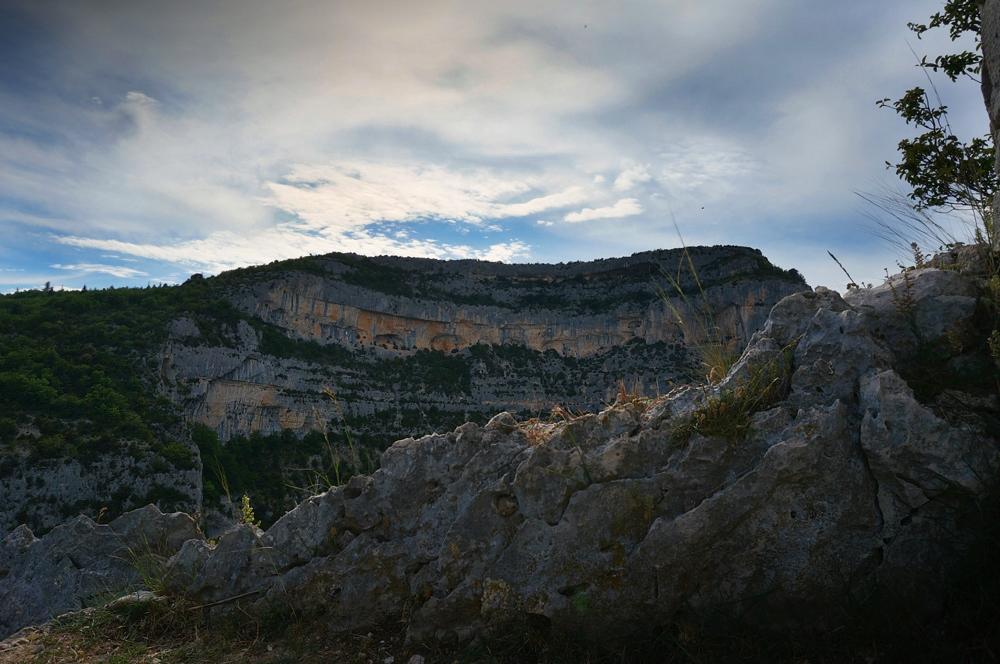 Rocher du Cire - gorges de la nesque