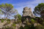 rocher du cirque de Mourèze (Héraut)