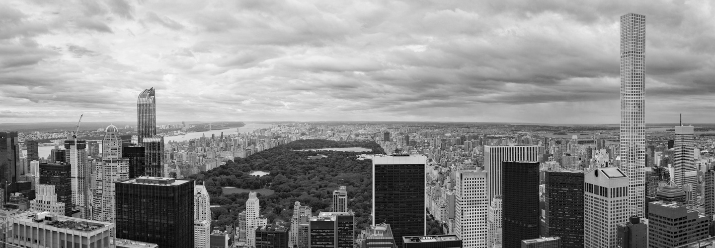 Rockefeller Ausblick Central Park